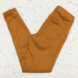 Old Navy Golden Mustard Super Skinny Jeans 10B
